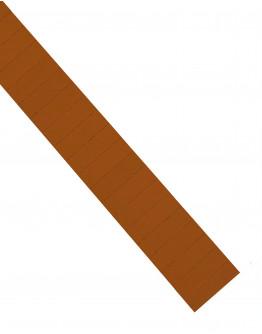 Карточки этикеточные 50x15 коричневые Magnetoplan Ferrocard Labels Brown Set (1286207)