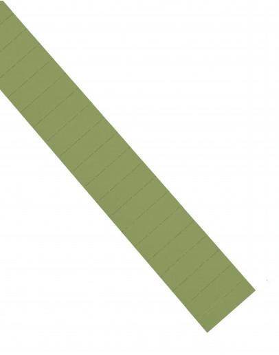 Карточки этикеточные 50x15 оливкового цвета Magnetoplan Ferrocard Labels Olive Set (1286209)