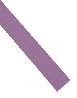 Карточки этикеточные 50x15 фиолетовые Magnetoplan Ferrocard Labels Violett Set (1286211)