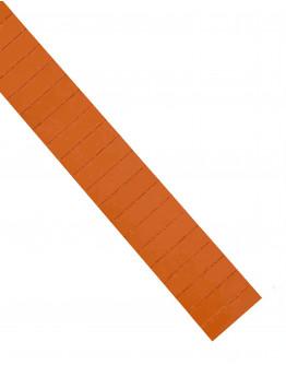Карточки этикеточные 50x15 оранжевые Magnetoplan Ferrocard Labels Orange Set (1286244)