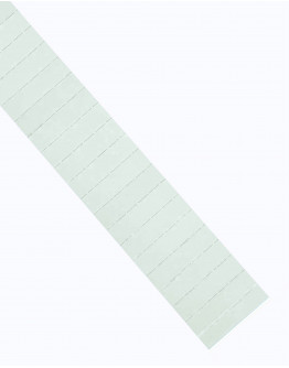 Карточки этикеточные 60x15 белые Magnetoplan Ferrocard Labels White Set (1286300)