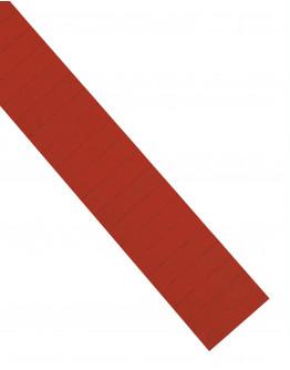 Карточки этикеточные 60x15 красные Magnetoplan Ferrocard Labels Red Set (1286306)