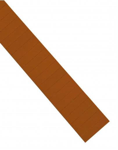 Карточки этикеточные 60x15 коричневые Magnetoplan Ferrocard Labels Brown Set (1286307)