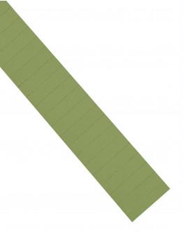 Карточки этикеточные 60x15 оливкового цвета Magnetoplan Ferrocard Labels Olive Set (1286309)