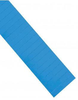 Карточки этикеточные 80x15 синие Magnetoplan Ferrocard Labels Blue Set (1286703)
