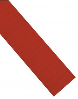 Карточки этикеточные 80x15 красные Magnetoplan Ferrocard Labels Red Set (1286706)