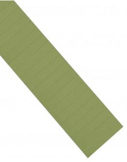 Карточки этикеточные 80x15 оливкового цвета Magnetoplan Ferrocard Labels Olive Set (1286709)