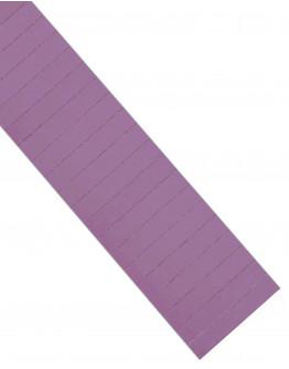 Карточки этикеточные 80x15 фиолетовые Magnetoplan Ferrocard Labels Violett Set (1286711)