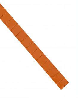 Карточки этикеточные 28x22 оранжевые Magnetoplan Ferrocard Labels Orange Set (1286844)