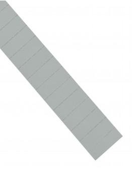 Карточки этикеточные 60x22 серые Magnetoplan Ferrocard Labels Gray Set (1287001)