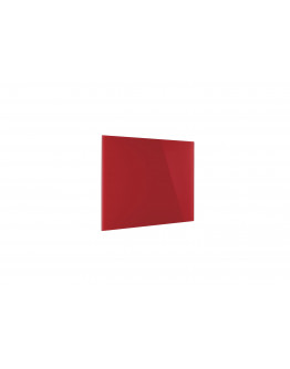 Доска стеклянная магнитно-маркерная 800x600 красная Magnetoplan Glassboard-Red (13403006)