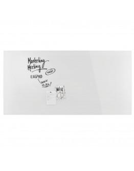 Доска стеклянная магнитно-маркерная 2000x1000 белая Magnetoplan Glassboard-White (13409000)