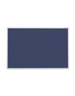 Доска ЭКО информационная для булавок односторонняя 900x600 синяя Magnetoplan Eco-Blue (1390021)