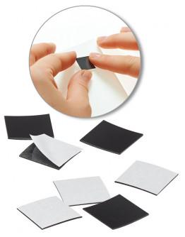 Стикеры-самоклейки магнитные 15x15 Magnetoplan Takkis Set (15501)