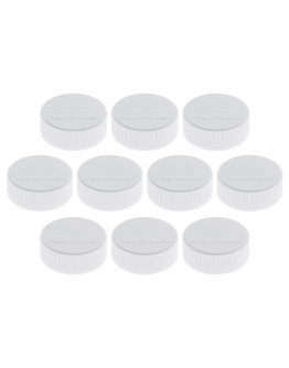 Магниты круглые 34/2 белые Magnetoplan Discofix Magnum White Set (1660000)