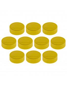 Магниты круглые 34/2 желтые Magnetoplan Discofix Magnum Yellow Set (1660002)