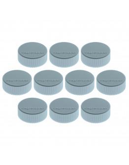 Магниты круглые 34/2 голубые Magnetoplan Discofix Magnum Light-Blue Set (1660003)