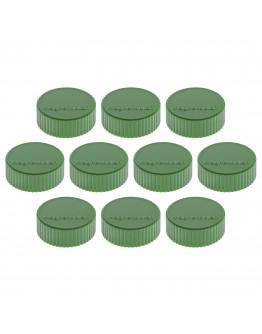 Магниты круглые 34/2 зеленые Magnetoplan Discofix Magnum Green Set (1660005)