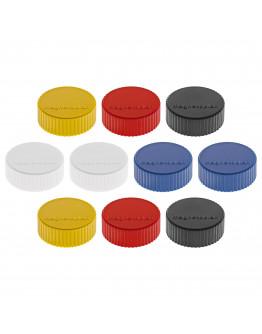 Магниты круглые 34/2 разноцветные Magnetoplan Discofix Magnum Assorted Set (1660010)