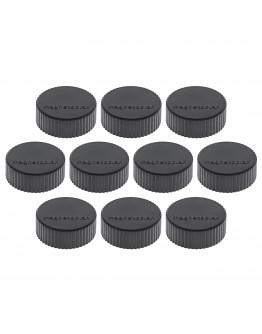 Магниты круглые 34/2 черные Magnetoplan Discofix Magnum Black Set (1660012)