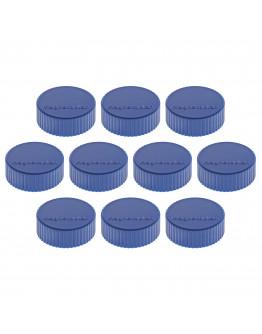 Магниты круглые 34/2 синие Magnetoplan Discofix Magnum Dark-Blue Set (1660014)