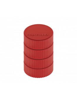 Магниты круглые 34/2 блистер красные Magnetoplan Discofix Magnum Red Set (16600406)