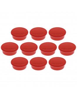 Магниты круглые 40/2.2 красные Magnetoplan Discofix Color Red Set (1662006)