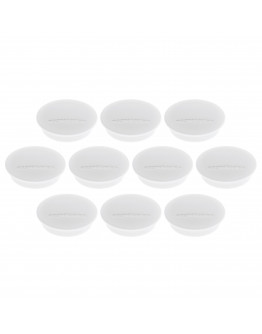 Магниты круглые 34/1.3 белые Magnetoplan Discofix Junior White Set (1662100)