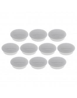 Магниты круглые 34/1.3 серые Magnetoplan Discofix Junior Gray Set (1662101)
