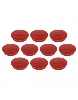 Магниты круглые 34/1.3 красные Magnetoplan Discofix Junior Red Set (1662106)