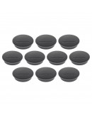 Магниты круглые 34/1.3 черные Magnetoplan Discofix Junior Black Set (1662112)