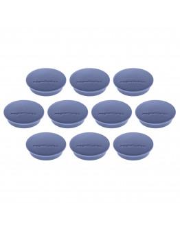 Магниты круглые 34/1.3 синие Magnetoplan Discofix Junior Dark-Blue Set (1662114)