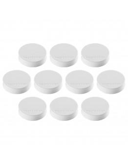 Магниты эргономичные средние 30/0.7 белые Magnetoplan Ergo Medium White Set (1664000)