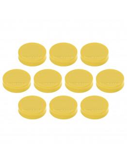 Магниты эргономичные средние 30/0.7 желтые Magnetoplan Ergo Medium Yellow Set (16640102)