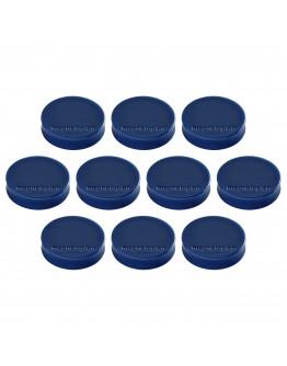Магниты эргономичные средние 30/0.7 Magnetoplan Ergo Medium Dark-Blue Set (1664014)