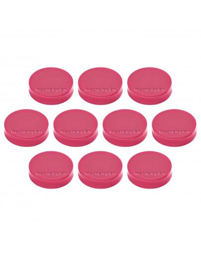 Магниты эргономичные средние 30/0.7 Magnetoplan Ergo Medium Pink Set (1664018)