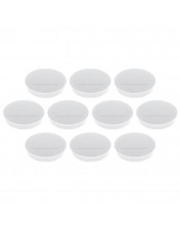 Магниты круглые 30/0.7 Magnetoplan Discofix Standard White Set (1664200)