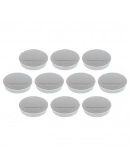 Магниты круглые 30/0.7 Magnetoplan Discofix Standard Gray Set (1664201)