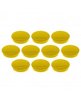 Магниты круглые 30/0.7 Magnetoplan Discofix Standard Yellow Set (1664202)