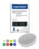 Магниты круглые 30/0.7 голубые Magnetoplan Discofix Standard Light-Blue Set (1664203)