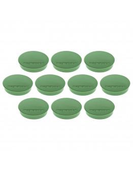 Магниты круглые 30/0.7 Magnetoplan Discofix Standard Green Set (1664205)