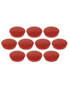 Магниты круглые 30/0.7 Magnetoplan Discofix Standard Red Set (1664206)