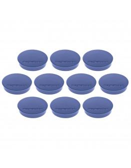 Магниты круглые 30/0.7 Magnetoplan Discofix Standard Dark-Blue Set (1664214)