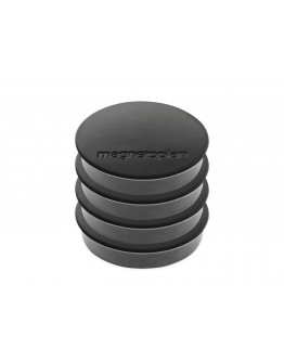 Магниты круглые 30/0.7 блистер Magnetoplan Discofix Standard Black Set (16642412)