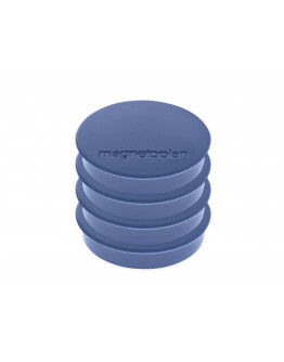 Магниты круглые 30/0.7 блистер Magnetoplan Discofix Standard Dark-Blue Set (16642414)