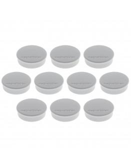 Магниты круглые 24/0.3 серые Magnetoplan Discofix Hobby Gray Set (1664501)