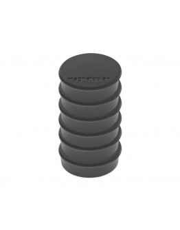 Магниты круглые 24/0.3 блистер черные Magnetoplan Discofix Hobby Black Set (16645612)