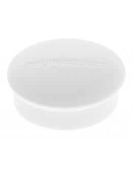 Магниты круглые 19/0.1 белые Magnetoplan Discofix Mini White Set (1664600)