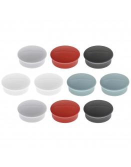 Магниты круглые 19/0.1 разноцветные Magnetoplan Discofix Mini Assorted Set (1664610)