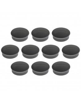 Магниты круглые 19/0.1 черные Magnetoplan Discofix Mini Black Set (1664612)